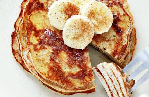 Gezonde bananen pannenkoekjes met maar 3 ingrediënten! (lactose vrij)