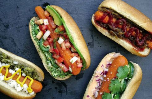 Carrot dogs (vegan hotdogs)