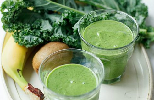 super green, super good, boerenkool smoothies!