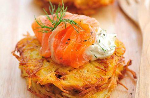 Super makkelijke zoete aardappelkoekjes met zalm