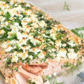 Een lekkere vissalade: makreel met feta kaas