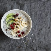 Voor alle chia pudding fans: pumpkin chia pudding