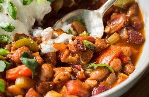 Chili stoofpotje! Eiwitrijk, vega en comforting!