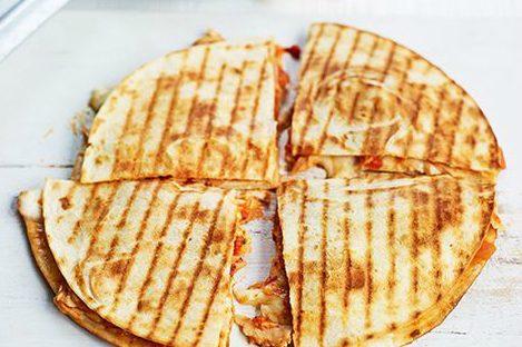 Heerlijke 'healthy grilled' groente quesadilla's