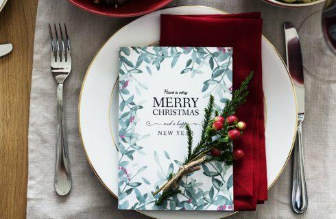 Versier je kersttafel op een simpele, mooie en goedkope manier!