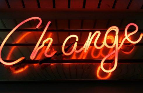 Time to change! Goede voornemens voor 2018!