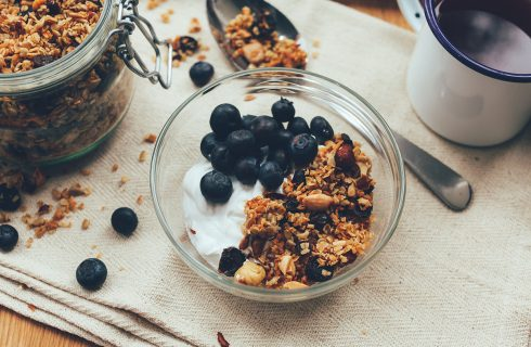 Recept voor healthy homemade granola