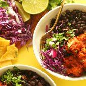 Overheerlijke Burrito bowl: geïnspireerd door Chipotle