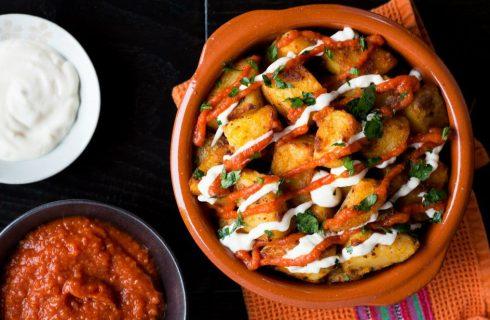 Spaanse patatas bravas van zoete aardappel!