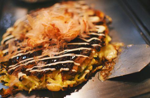 Biotische okonomiyaki; gezonde japanse eierpannenkoekjes!