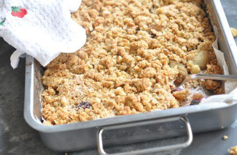 Treat yourself: heerlijke glutenvrije appelkruimel taart
