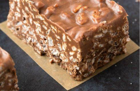 Gezonde snack: Heerlijke chocolade energie reep! (suikervrij)