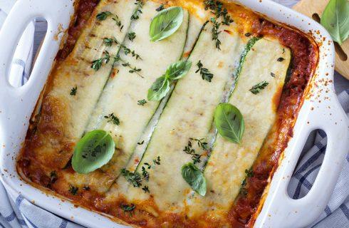 Heerlijke low-carb zucchini lasagne