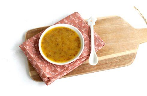 Een healthy honing-mosterd sla dressing!