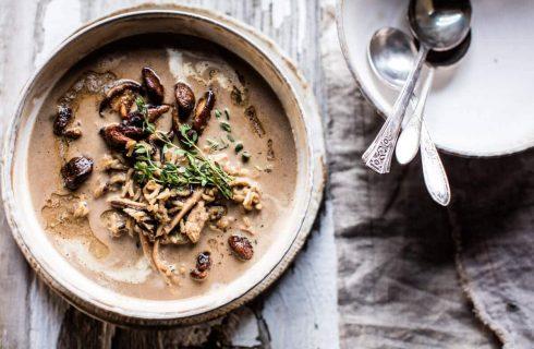 Magisch lekkere paddenstoelen soep met een twist!