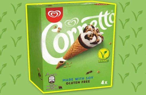 Deze zomer kunnen wij genieten van een vegan Cornetto!
