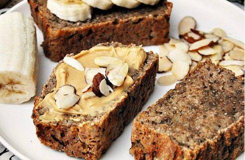 Glutenvrij dadelbrood met quinoa en banaan