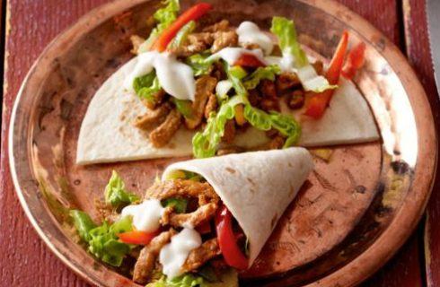 Lekker en gezond: broodje kip shoarma!