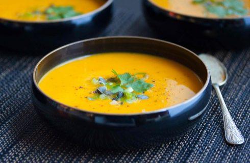 Heerlijke homemade wortelsoep! (glutenvrij)