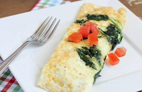 Simpel en lekker: low-carb veggie eiwit omelet!