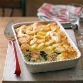 Spinazie-zalmsaus, lekker voor over elke pasta!