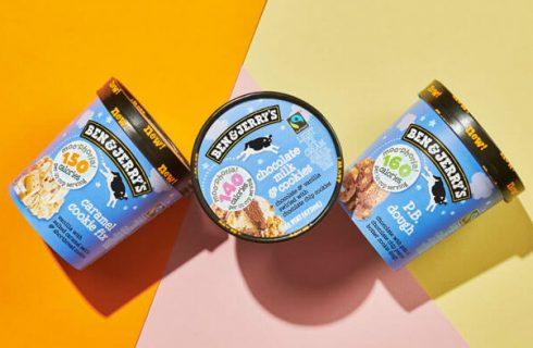 Ben & Jerry's lanceert nu ijs met minder calorieën!
