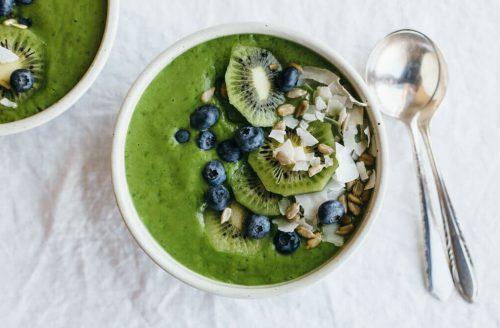 Heerlijke groene smoothie met maar 4 ingrediënten!