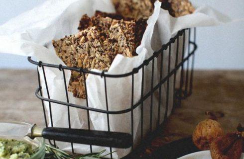 Heerlijke lijnzaad crackers met pompoenpitten