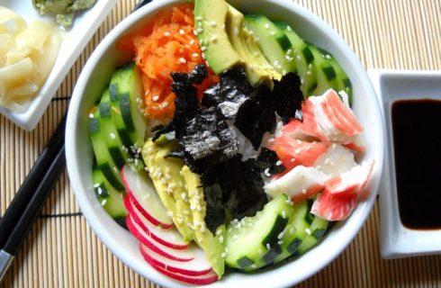 Ben jij een sushilover? Proef dan deze heerlijke sushi bowl