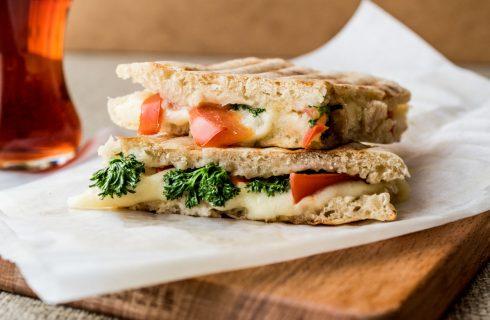 Een lekkere en makkelijke groenten tosti als lunch