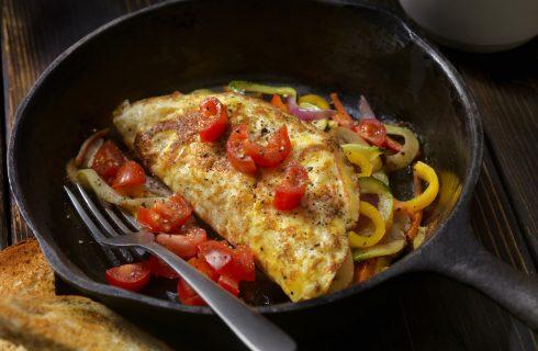 Een lekkere Italiaanse omelet als lunch of ontbijt!