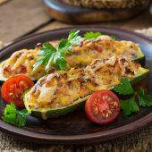 Gemakkelijk te bereiden en gezonde courgette lasagne