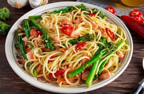Lekkere Aziatische noedels met groenten