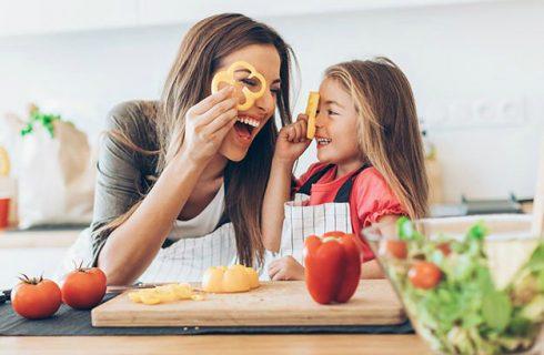 Vijf simpele gerechten die je samen met je kinderen kan maken!