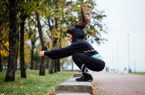 Oefeningen voor een goede training buiten!