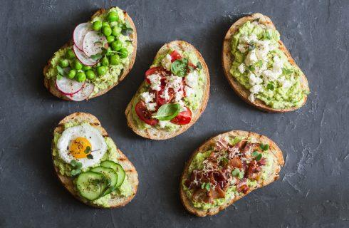 Drie keer de simpelste en lekkerste toast met avocado