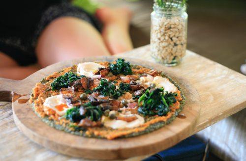 Vegetarische pizza: met een verassende smaakcombinatie!