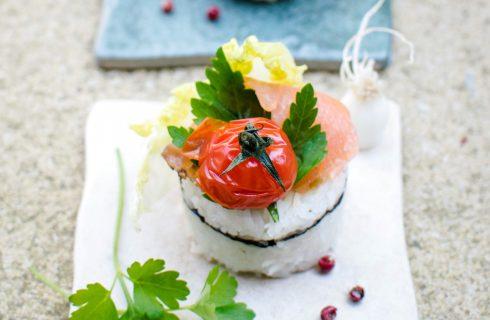 Iets te vieren? Trakteer op de 'Sushi snack met zalm'